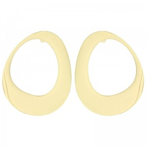 Pendientes presion acero ovalo deforme