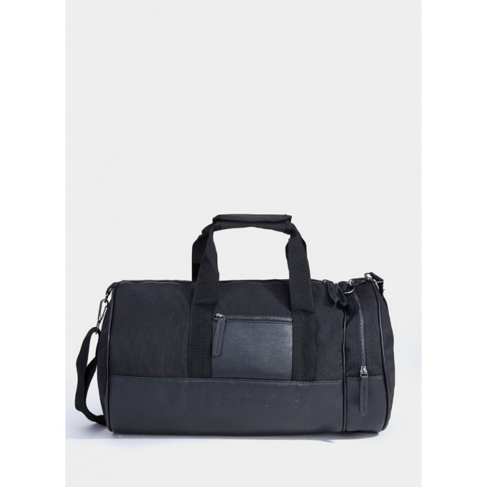 Bolso de viaje en negro de Tiffosi