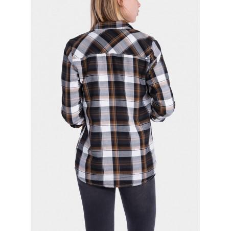 Camisa para chica de cuadros de la marca Tiffosi