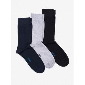 Pack de tres calcetines para chico de Tiffosi