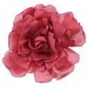 Broche en forma de flor de gasa