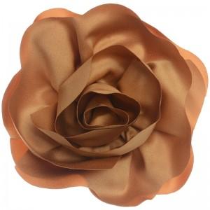 Broche en forma de ros de tela de 16 cm