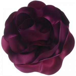 Broche en forma de rosa de 16 cm en tela