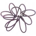 Broche de resina en forma de flor calada