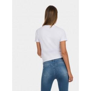 Camiseta para chica de Tiffosi con cuello pico y bajo ajsutable