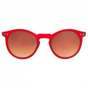 Gafas de sol de pasta mate color rojo de Charles In Town