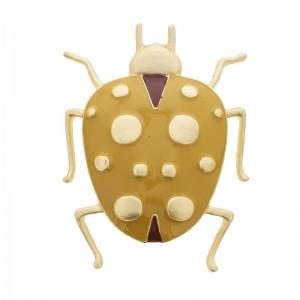 Broche con forma de insecto de esmalte