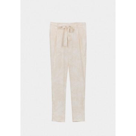 Pantalón Tiffosi fluido con precioso estampado de palmeras