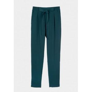 Pantalón liso de goma con lazo cintura de Tiffosi modelo Binky-2