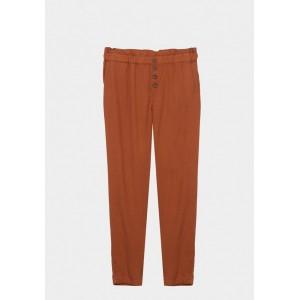 Pantalón fruncido y botones de madera de Tiffosi modelo Lax_6