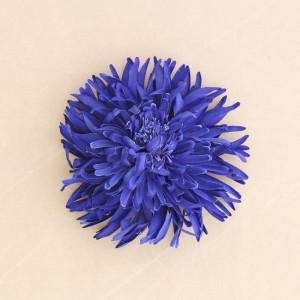 Broche flor tela 16cm