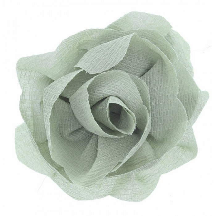 Broche flor tela