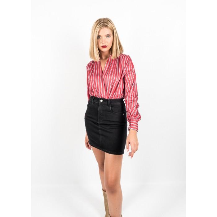 Camisa body de rayas