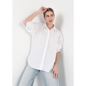 Camisa básica oversize