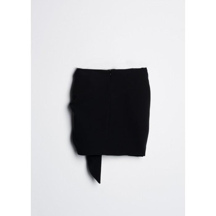 Falda mini drapeada