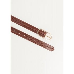 Cinturon hebilla ovalada