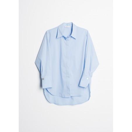 Camisa básica con manga larga