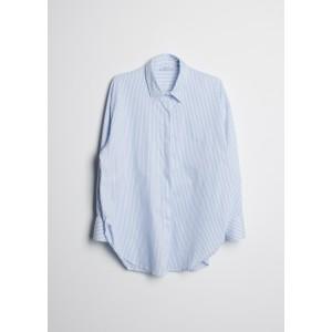 Camisa oversize para mujer de rayas