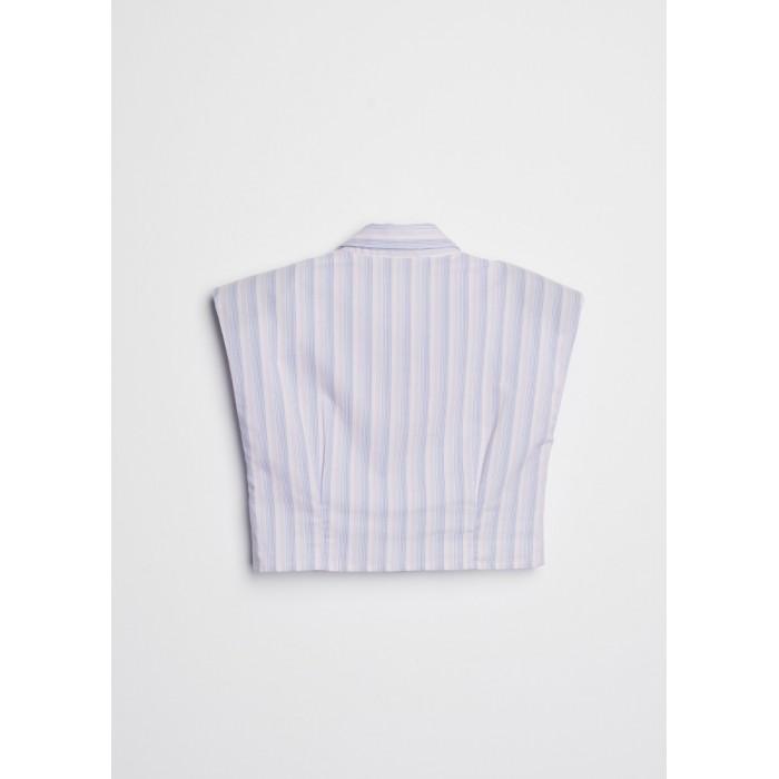 Camisa corta sin mangas