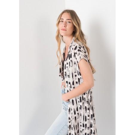 Vestido para mujer camisero de largo midi