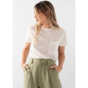 Camiseta manga corta con bolsillo