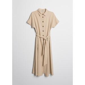 Vestido de lino midi