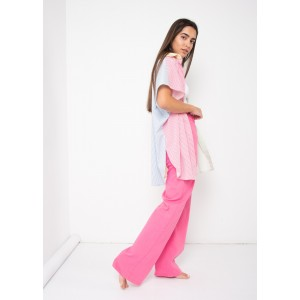 Camisa oversize rayas de colores