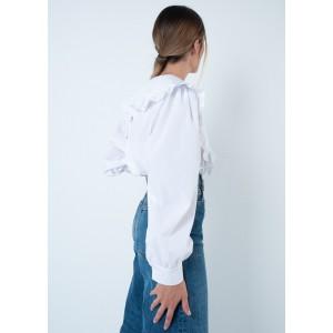 Camisa con cuello bebé XL
